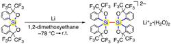 原子同士が反発しそうなのに切れない新しい化学結合の構築